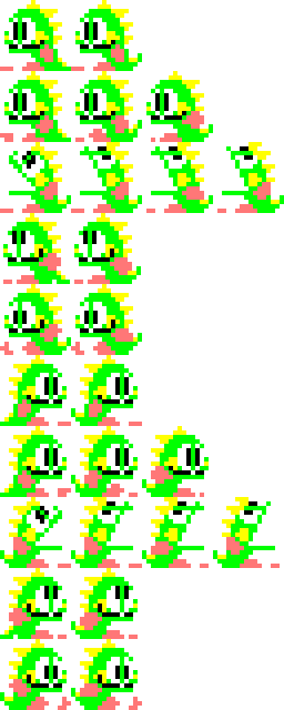 Bubble Bobble Demo in HTML/JS